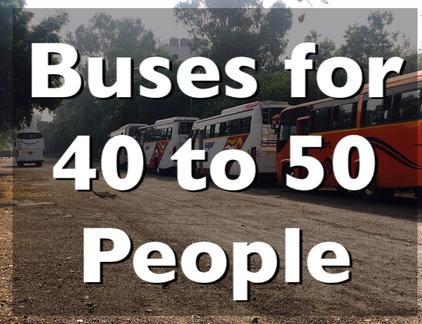 rent a bus in delhi
