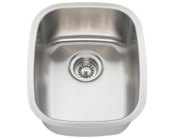 Solaris 5181 Bar Single Bowl Stainless Steel Sink