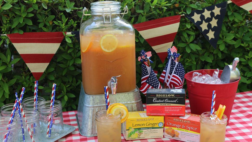 Sparkling Citrus Sweet Tea Punch Recipe, Noreen's Kitchen