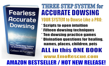 Fearless Accurate Dowsing book on Amazon!