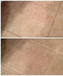 grout sealing before and after new braunfels Texas Tile and Stone Care