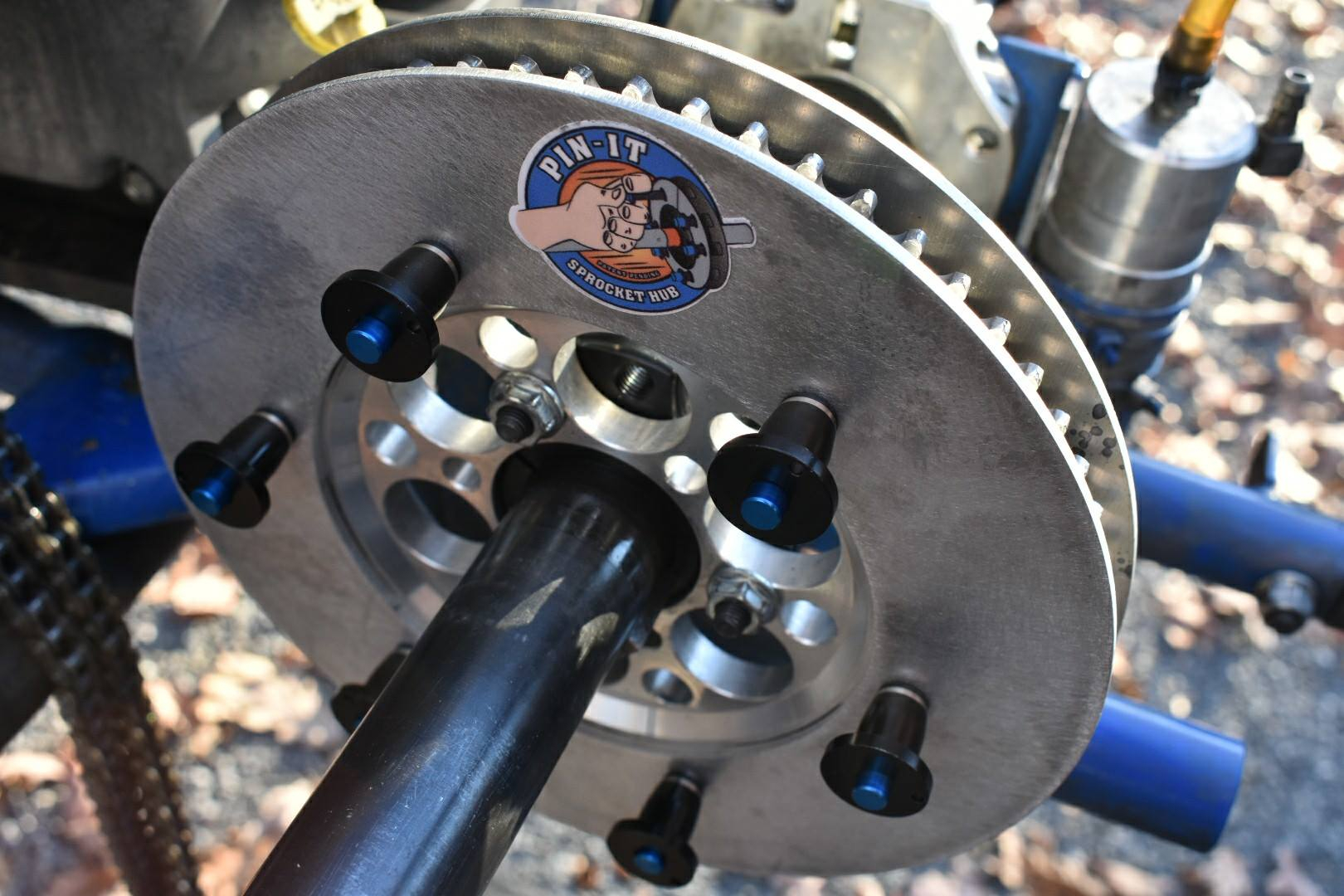 Quick Change Solutions for Sprockets and Weights!