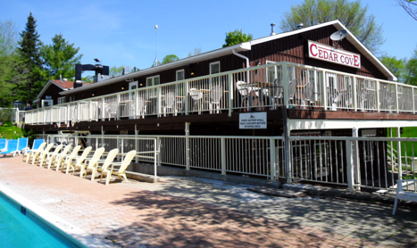 Cedar Cove Resort In White Lake Ontario