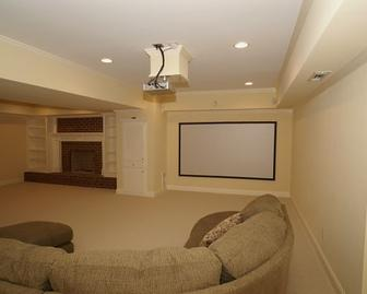 Home Theater Painting