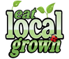The eatlocalgrown project logo was created to help you Find, Rate and Share Locally Grown Food! There are categories for Farms, Farmers Markets, Grocery Stores/Co-ops, Restaurants, Artisans and more.
