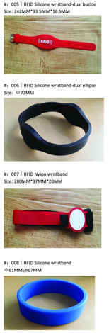Hotel RFID Wristbands instead of key cards