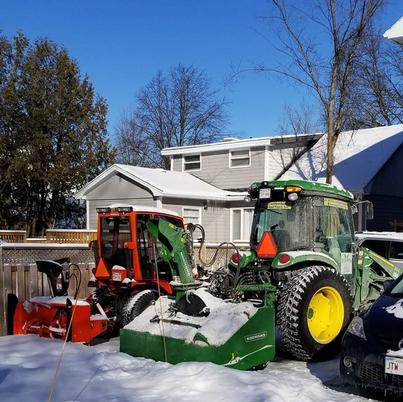 Snow Blowing, Snow plowing, Snow removal