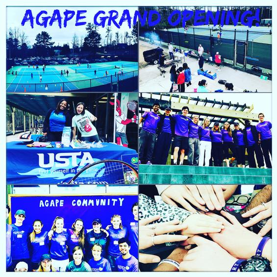 Agape Tennis Academy Grand Opening at Dekalb Tennis Center