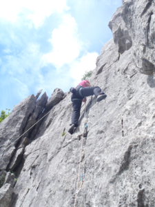 Rock Climbing courses in the lake district and yorkshire dales