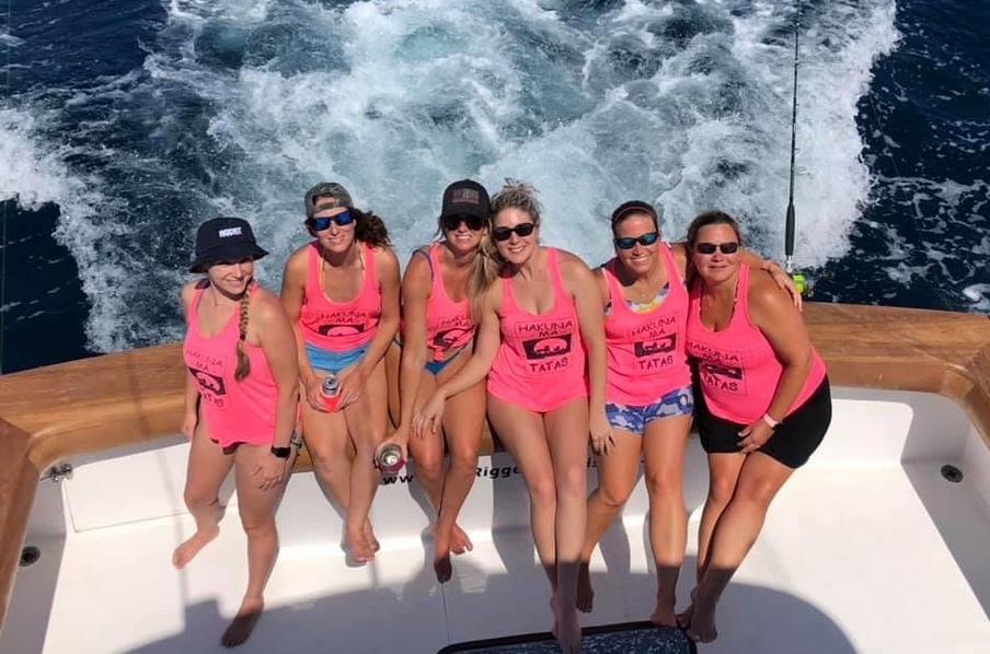 Bachelorette Party - Knot Tell'n Charters