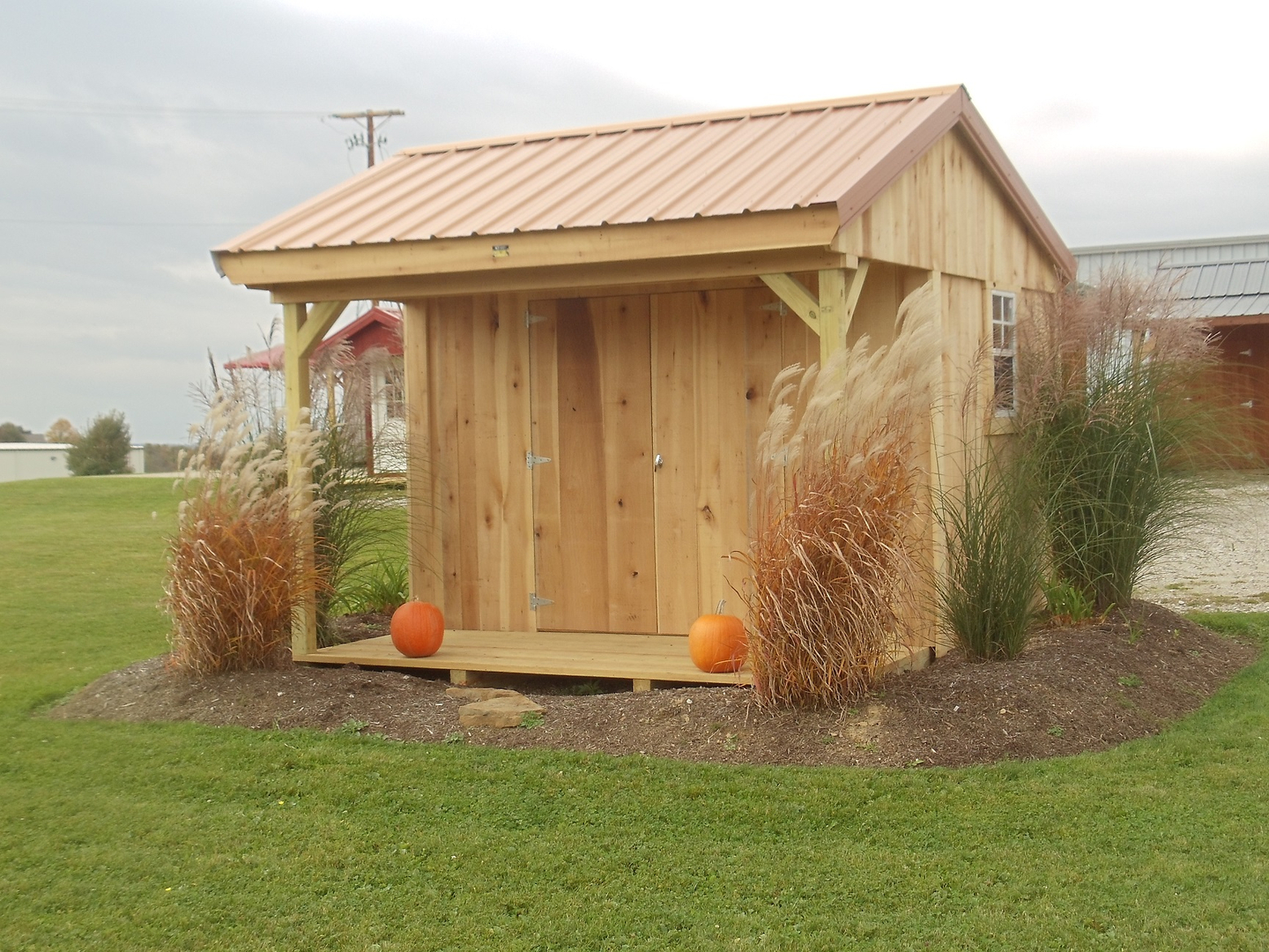 Garden Sheds Ohio garden sheds - portable barns construction in millersburg ohio