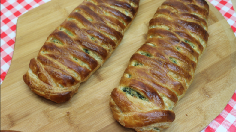 Puff Pastry Spinach Artichoke Braid Recipe, Noreen's Kitchen