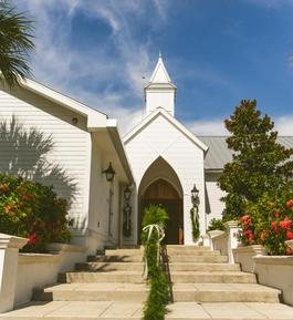 Island church options for your Boca Grande wedding