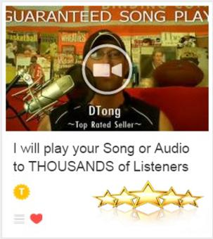 Song play & promotion