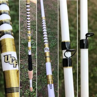UCF University of Central Florida Knights Custom Fishing Rods
