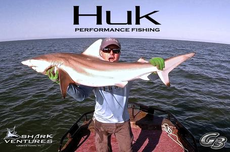 Huk Performance Fishing Shark Photo