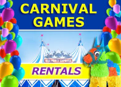 CARNIVAL GAME RENTAL USA Party Express Carnival Games Are Great For Backyard Parties Block Corporate Picnics Fundraising Events