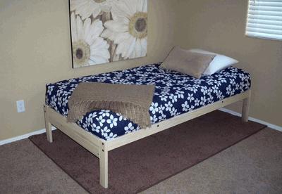 - KD Nomad Platform Bed Unfinished By KD Frames