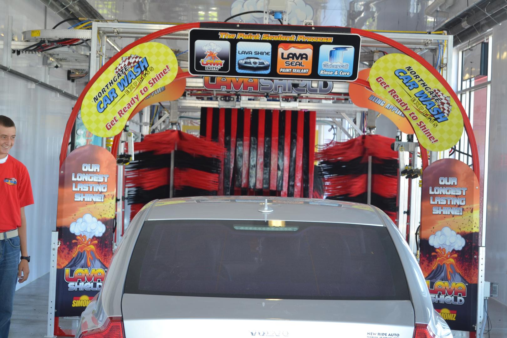 Full Automatic Express Car Wash Northgate Express Car Wash