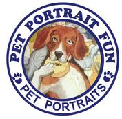 Pet Portrait Fun Logo