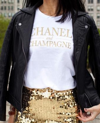 Chanel and Champagne