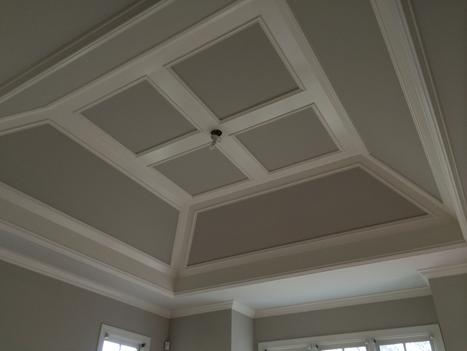 Coffered Ceilings Trim South Raleigh Nc