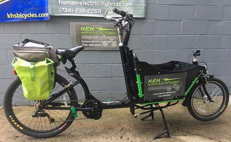 Bakfiets HEH Wicycle Box Bike electric cargo bike