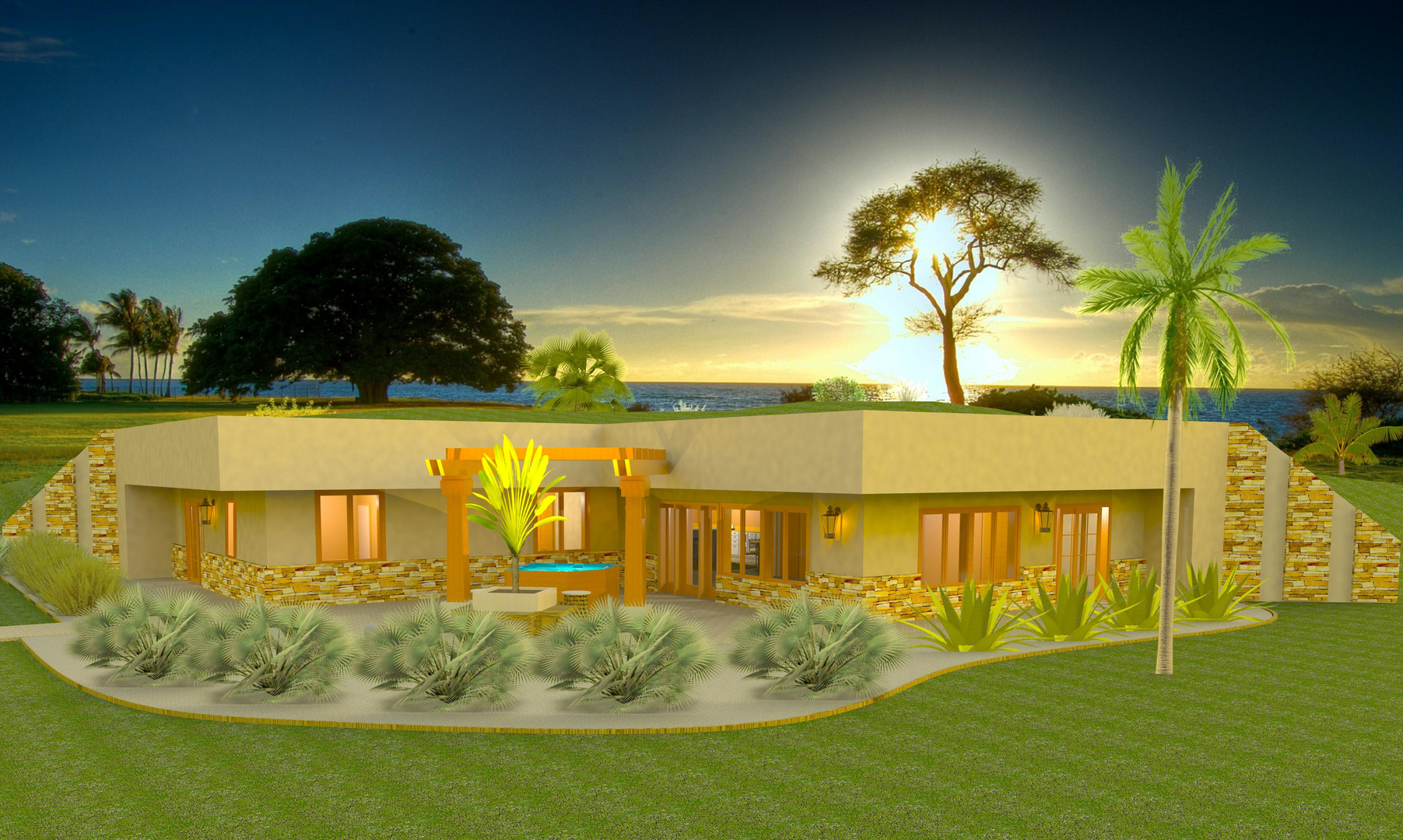 100+ [ earth sheltered homes plans ] | underground houses