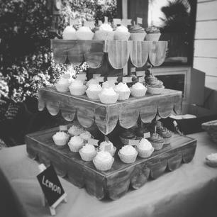 Rustic Parties Serving Tiers and Risers, Southern California, Orange County