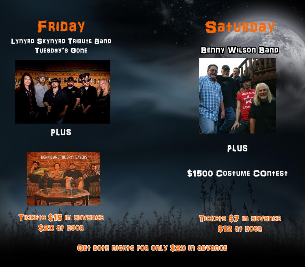 Kingsport Halloween Bash Benny Wilson Halloween Party Lynyrd Skynyrd Costume Contest