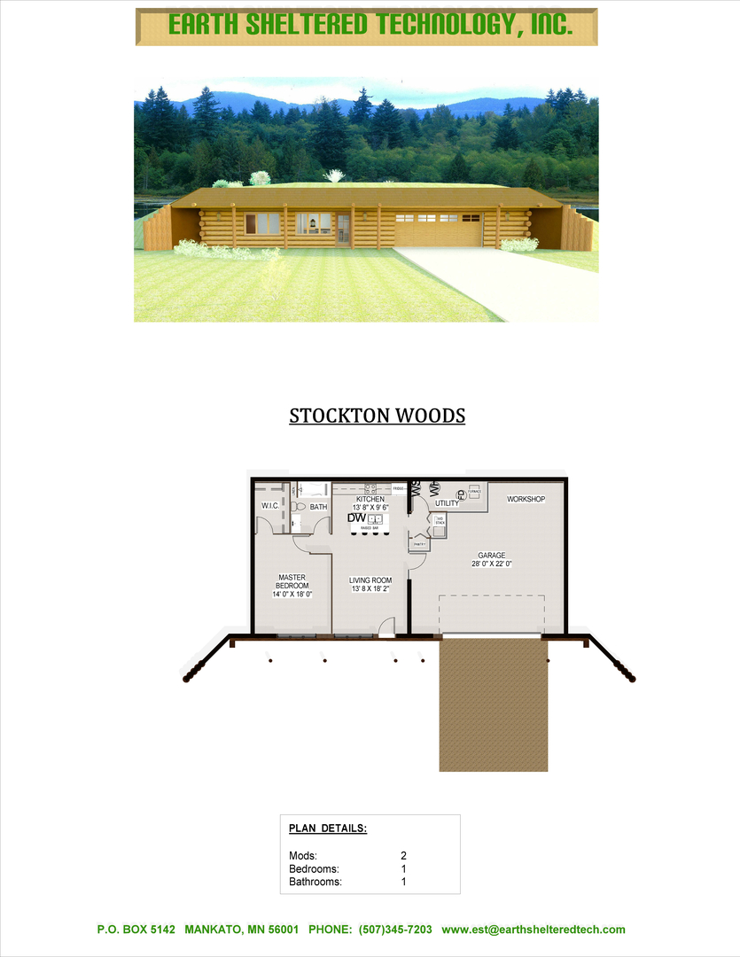 Earth Sheltered Home Plans House Design Ideas