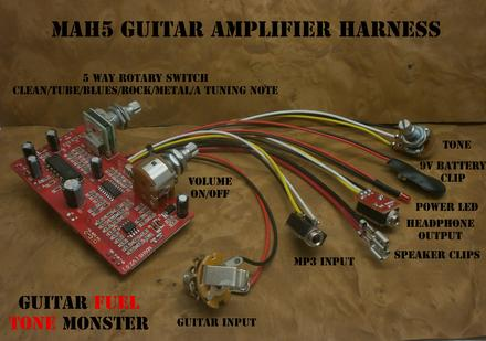 Guitar Amplifier Circuits on