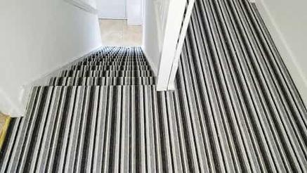Striped Stairs Carpet
