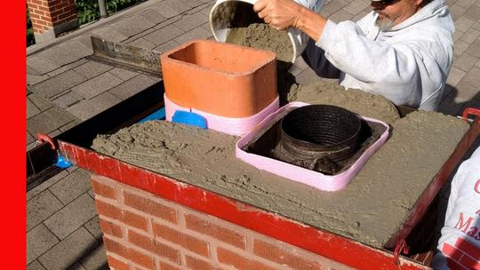 Excellent Chimney Crown Repair Service and Cost in Firth Nebraska | Lincoln Handyman Services