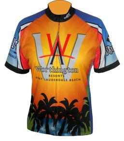 worthington custom cycling jersey
