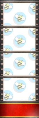 Bumblebee Booths Photo Strip sample #11