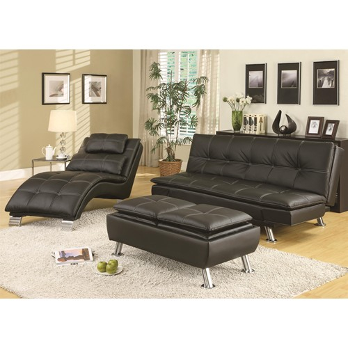 Coaster Convertible Sofa Bed