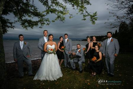 Gorgeous wedding day at the Glensheen Mansion in Duluth Minnesota