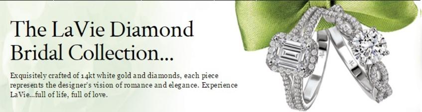 Please follow this link to see the La Vie Diamond Bridal Collection!