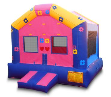 flower power bounce house