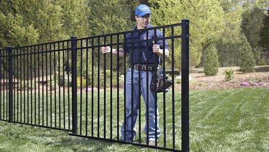 Aluminum Fence Installation Service and Cost in Lincoln NE | Lincoln Handyman Services
