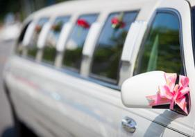 City Hall Weddings NYC 10 passenger white Limo