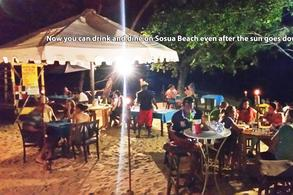 Night Life on Sosua Beach Playa