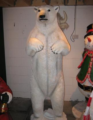 Giant Life Size Polar Bear Prop Hire