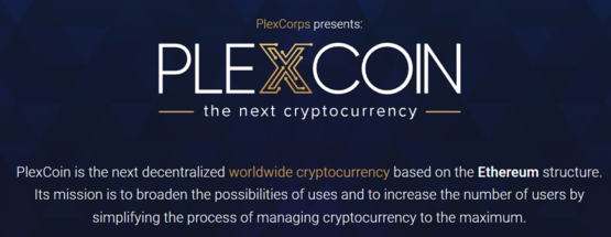 plexcoin cryptocurrency