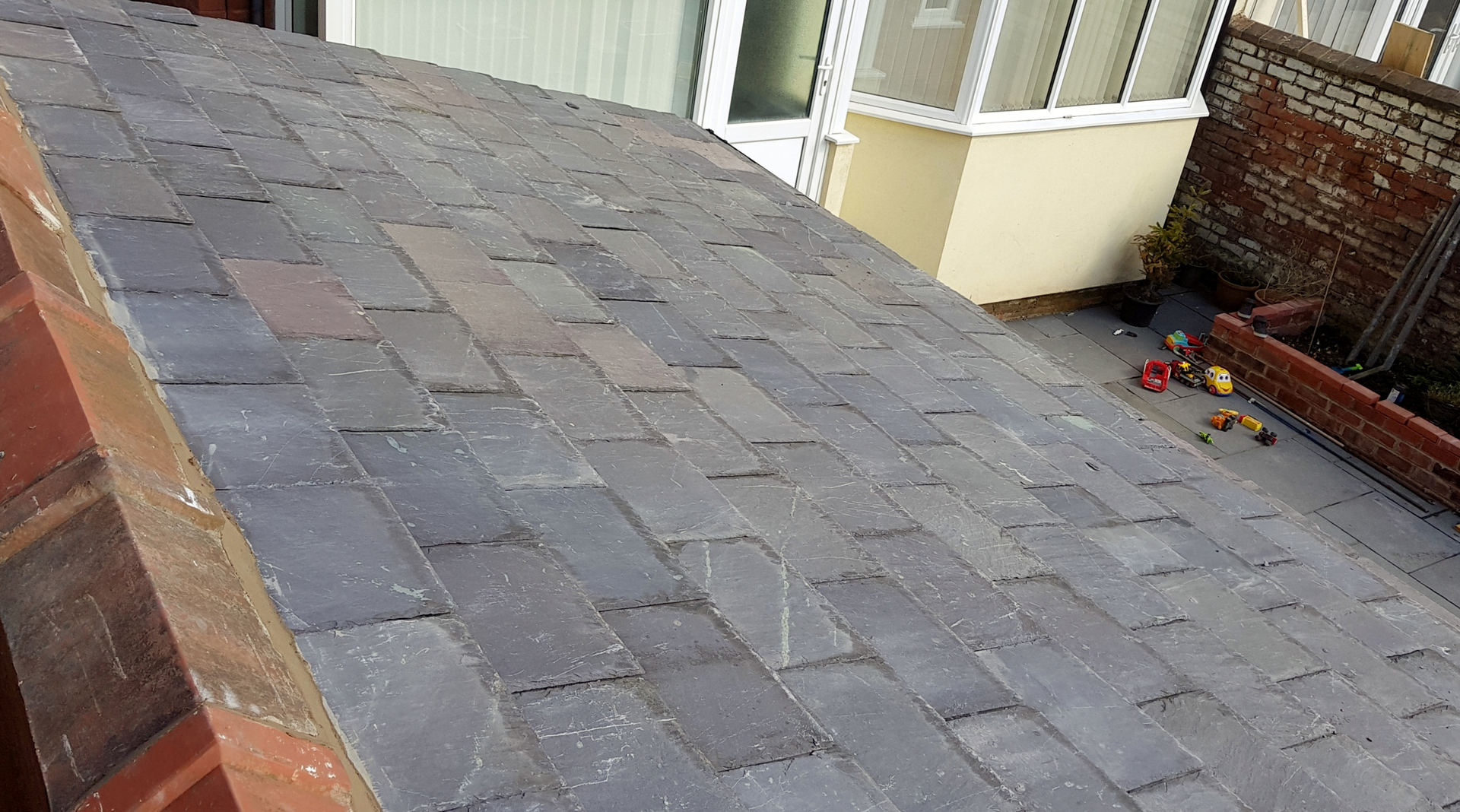 Worst slate roof ever