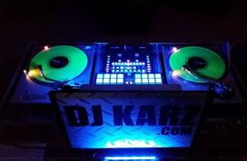 DJ KARZ does lighting with event and club atmosphere lighting services based in Charlotte NC