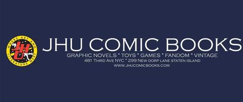 JHU Comic Books, Geekpin Entertainment, New York, Comics, Staten Island, LCS, Comic Shop, GeekpinEnt
