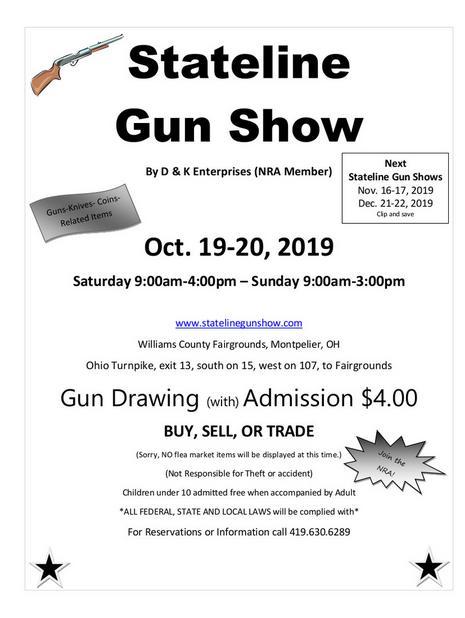 Montpelier ohio gun show