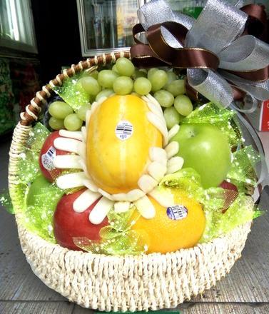giỏ trái cây, giỏ trái cây nhập khẩu cao cấp
